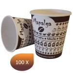 Gobelet carton décor MAPALGA 7Oz 180 ml