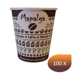 Gobelet carton décor MAPALGA 4Oz 100 ml