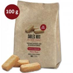 Sachet de sablés noix du Sud-Ouest GOULIBEUR VRAC 100g