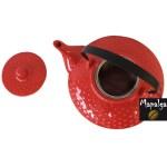 Théière Picot Rouge Céramique 650 ml SEMA DESIGN