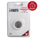 Set de 3 joints + 1 filtre cafetière aluminium 1Tasse - BIALETTI
