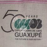 Sac de café vide en toile de jute - Guaxupe 50 ans - Bresil
