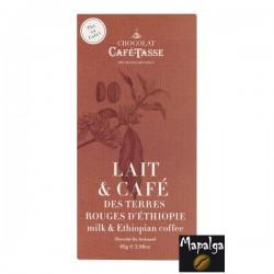 Tablette Lait Café Ethiopie CAFE-TASSE 85g DLUO DEPASEE