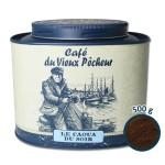 Boîte métal café moulu LE CAOUA DU SOIR 500g - CAFÉ DU VIEUX PÊCHEUR