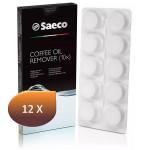 Boite de 12 x 10 Tablettes de dégraissage Saeco