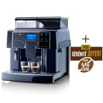 SAECO AULIKA EVO BLACK + 10 kg Café offerts