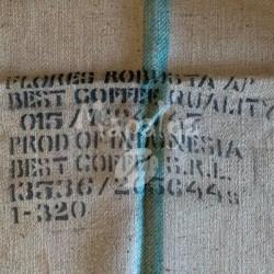 Sac de café vide en toile de jute - Flores Robusta - Best Coffee S.R.L.