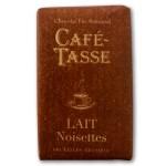 Tablette chocolat au lait Noisettes 9g - CAFE TASSE