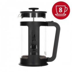 Cafetière à piston Smart noire 8 Tasses 1 LITRE BIALETTI