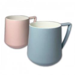 Mug SANNA 35 cl  porcelaine finition Magnésium - CHACULT