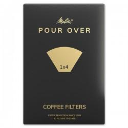 Filtres à café MELITTA ORIGINAL 1X4  100 unités