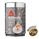 Café moulu Platinum - Delta Cafés - 250g mouture universelle