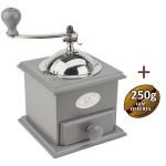 Moulin à café Cottage gris - Peugeot + 1 KG café