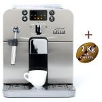 Machine à café automatique BRERA SILVER GAGGIA 10003083 + 3kg Café + 4 verres espresso