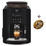 Expresso broyeur à grains YY3074FD KRUPS + 3 KG de café offerts
