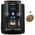 Espresso broyeur à grains YY3076FD KRUPS + 3 KG de café offerts