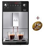 Machine à café automatique Purista F230-101 MELITTA + 3 KG de café offerts