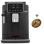 Machine à café automatique CADORNA PLUS GAGGIA + 3kg Café + 4 verres espresso