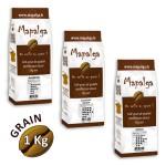 Pack économique cafés en grain MAPALGA 1Kg