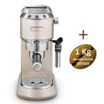 Machine à café DELONGHI Dedica Style - EC 695.M + 1 kG de café moulu OFFERT