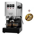 Machine à café espresso Gaggia New Classic + 1 kg Café