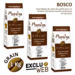 Pack x 3 Café grain BOSCO - 1 Kg - MAPALGA