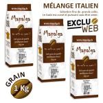 Pack x 3 Café grain MELANGE  ITALIEN - 1Kg - MAPALGA