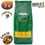 3 X Café grain Delicatessen - 1 Kg - Tupinamba