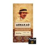 Chocolat noir 63% - Café Arabica, éclats de fèves et fleur de sel marin -MENAKAO