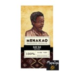 Chocolat noir 100% Cacao - MENAKAO