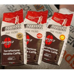 PACK DECOUVERTE TORVECA 3 KG de café grain