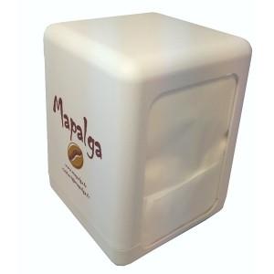 Distributeur de serviettes avec recharge de 500 serviettes
