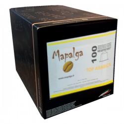 Capsules compatibles Nespresso MAPALGA TOP ARABICA