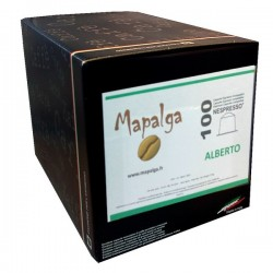 Capsules compatibles Nespresso ALBERTO MAPALGA