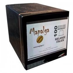 Capsules compatibles Nespresso MELANGE ITALIEN  MAPALGA