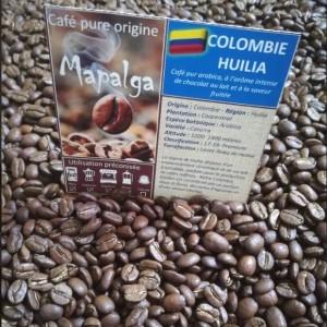 Café pure Origine Colombie Huilia 250 g