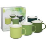 Set de 4 Mugs 380 ml Element Jungle WAECHTERSBACH