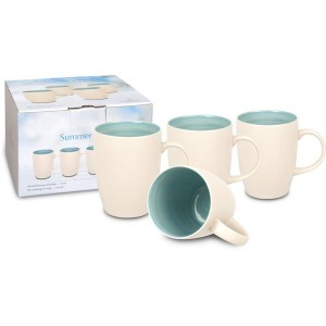 Set de 4 Mugs 265 ml Summer Vibes WAECHTERSBACH