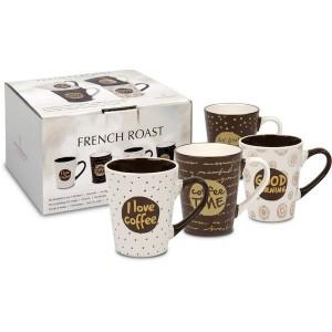 Set de 4 Mugs 300 ml French Roast WAECHTERSBACH